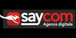 Logo agence saycom